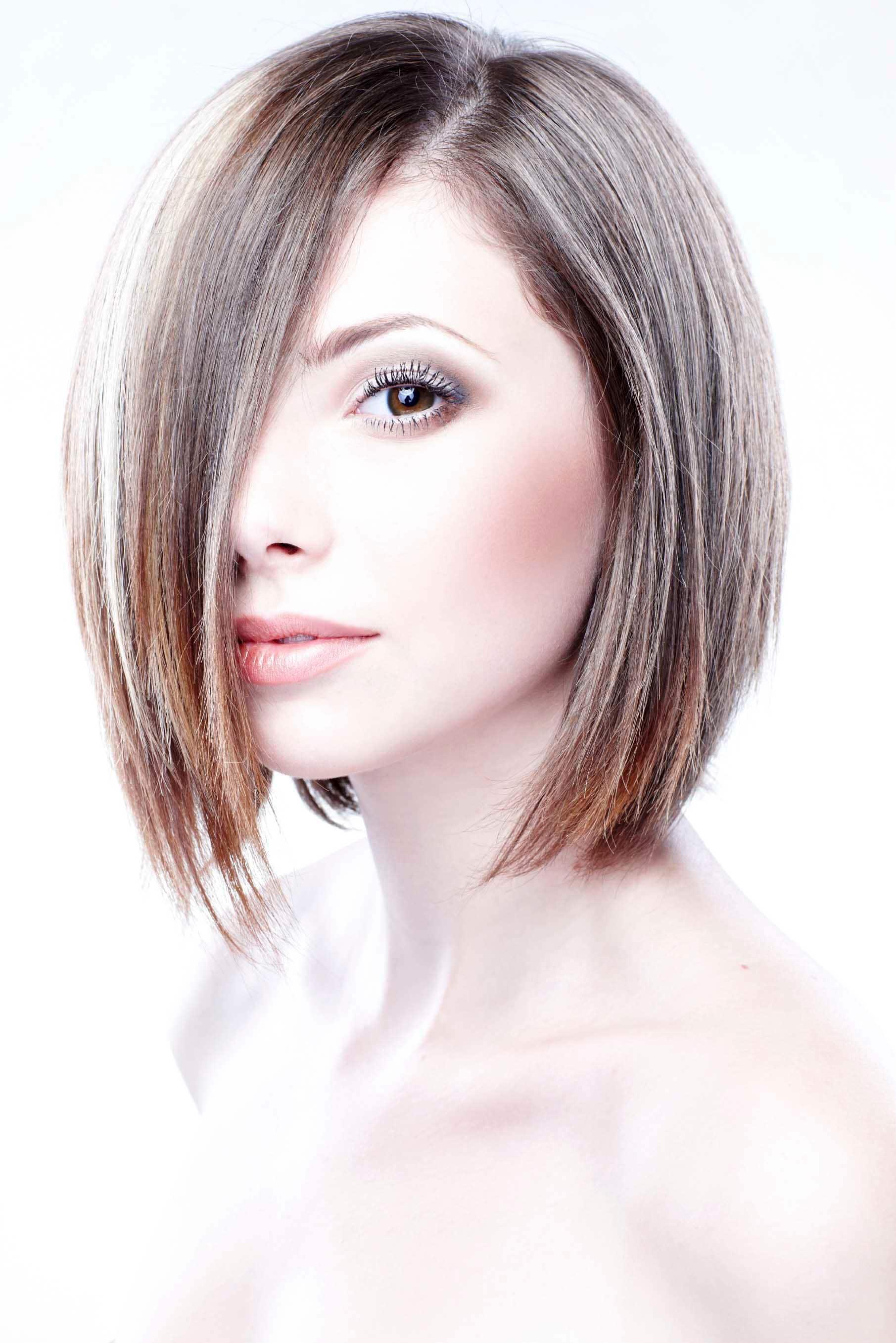 razored bob haircuts