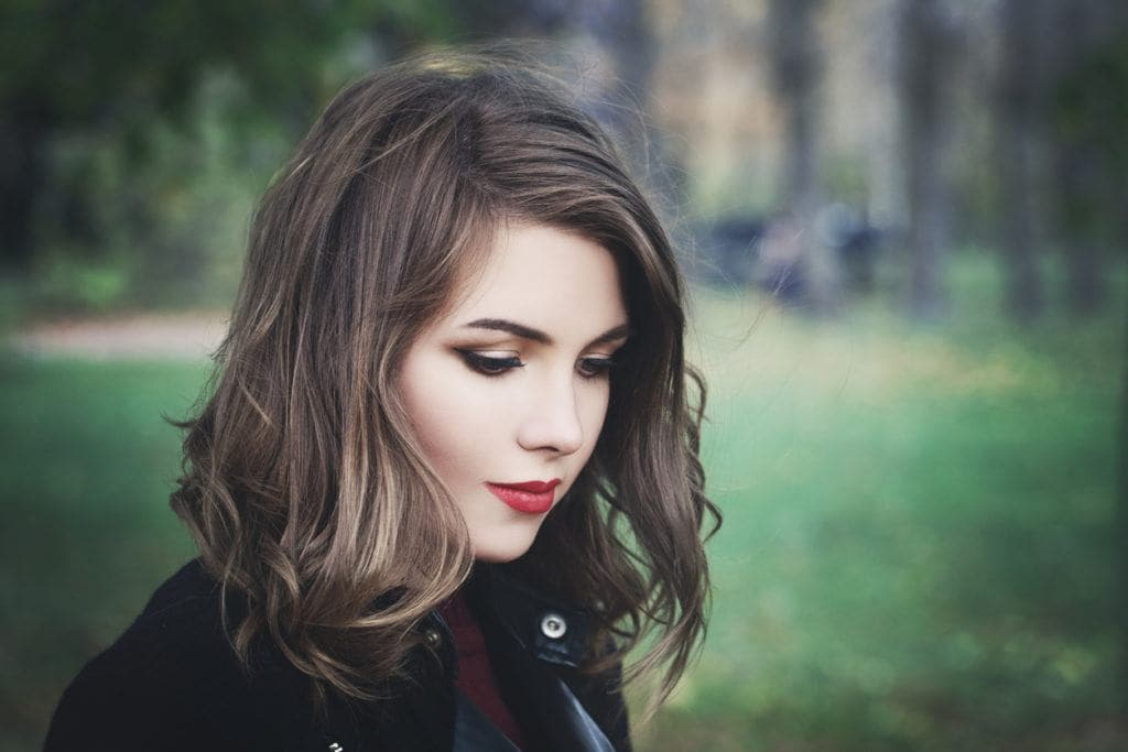 asymmetrical bob: waves