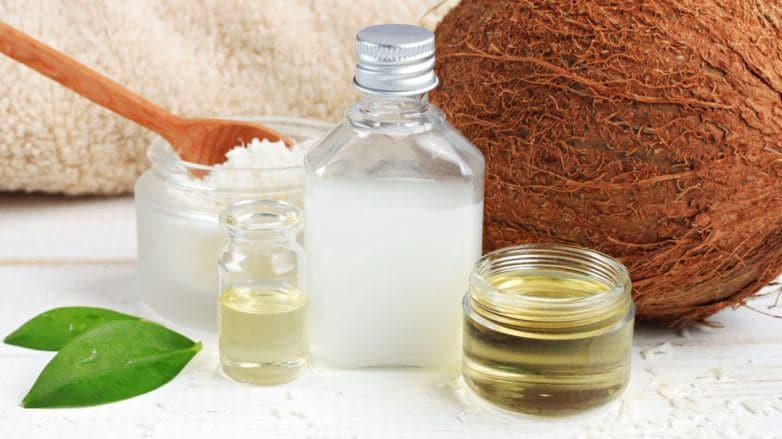 best hair oil: coconut oil