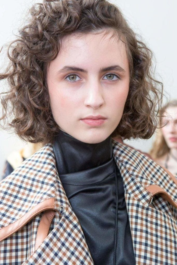 square bob best haircuts for curly hair