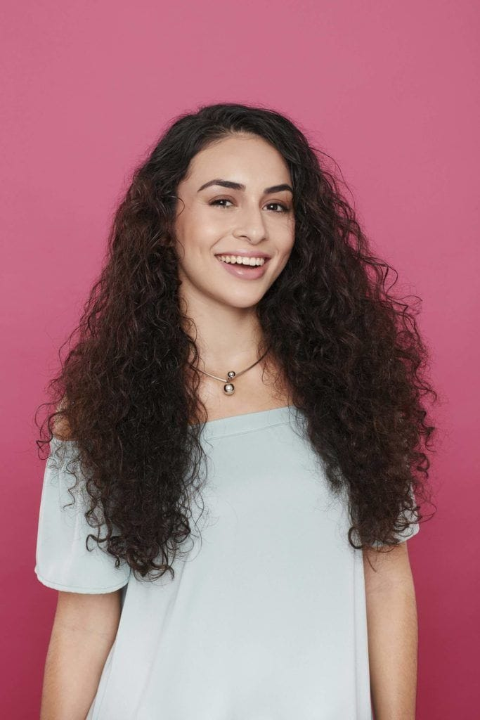 fresh and natural best haircuts for curly hair