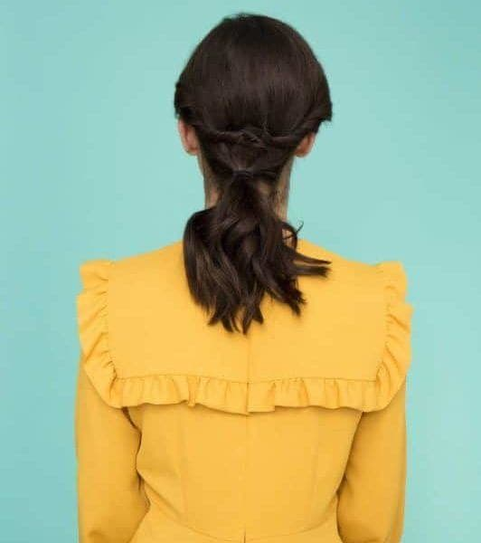 gibson girl hair tutorial ponytail