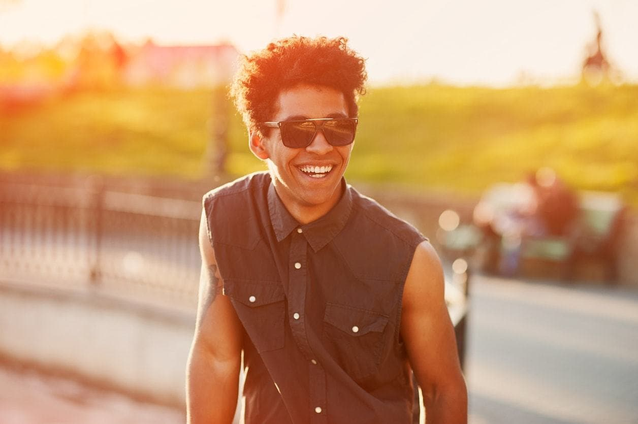 hairstyles for men with thick curl hair natural hair