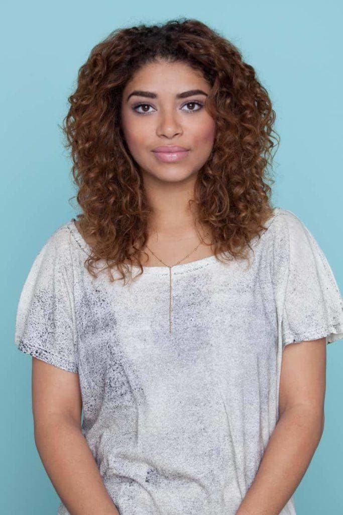 silky natural lob best haircuts for curly hair
