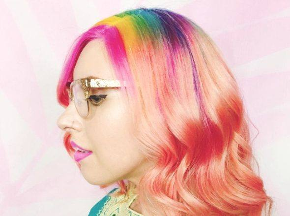 rainbow roots trend from instagram