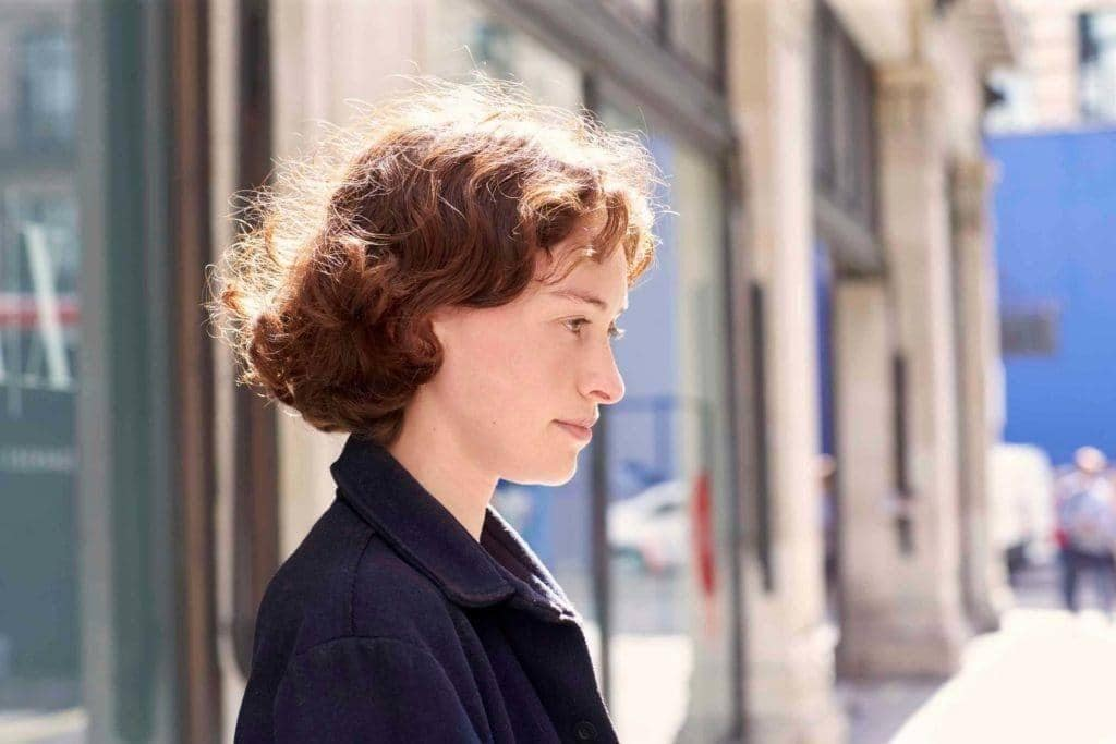 short haircuts for curly hair: