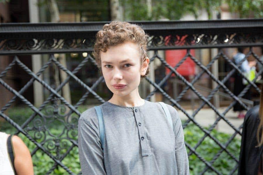 short haircuts for curly hair: cute pixie curls