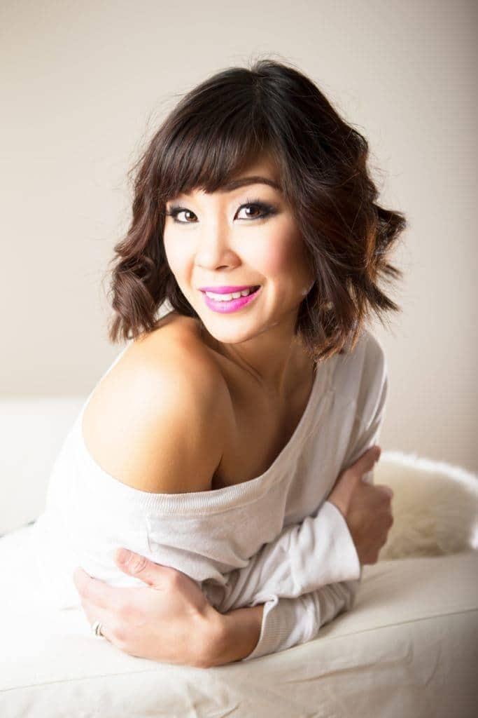 wavy hair with bangs: Asian Hair