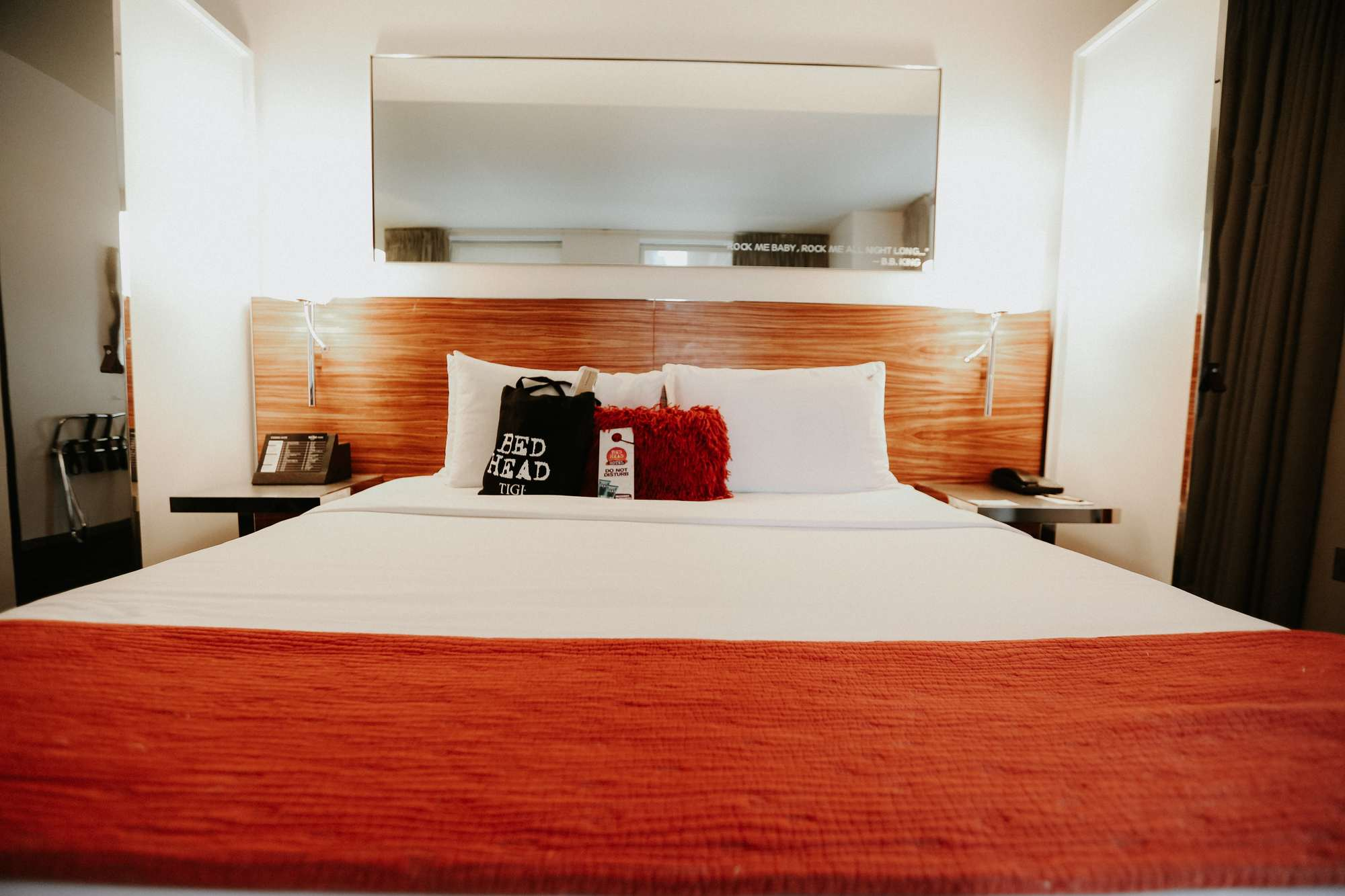 bed head hotel beds