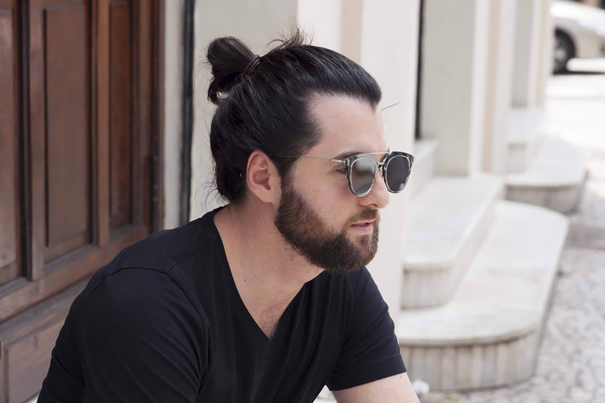 hair oil for men man bun