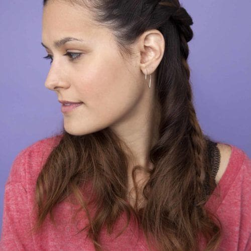 40 Half Braided Hairstyles You Can Master In Minutes