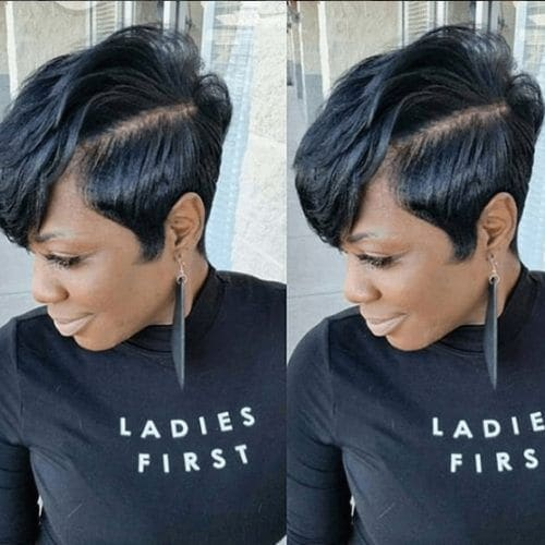 25 Chic Pixie Cut Black Hair Combos We Love