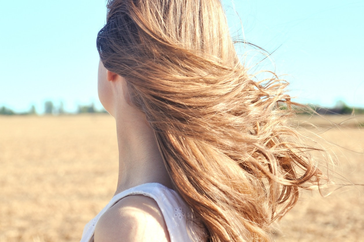 hair moisturizers: blonde hair