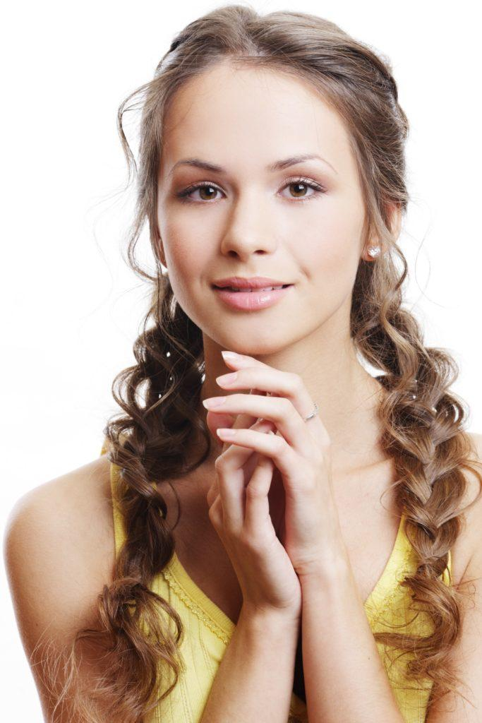 hairdos for curly hair pigtail braids