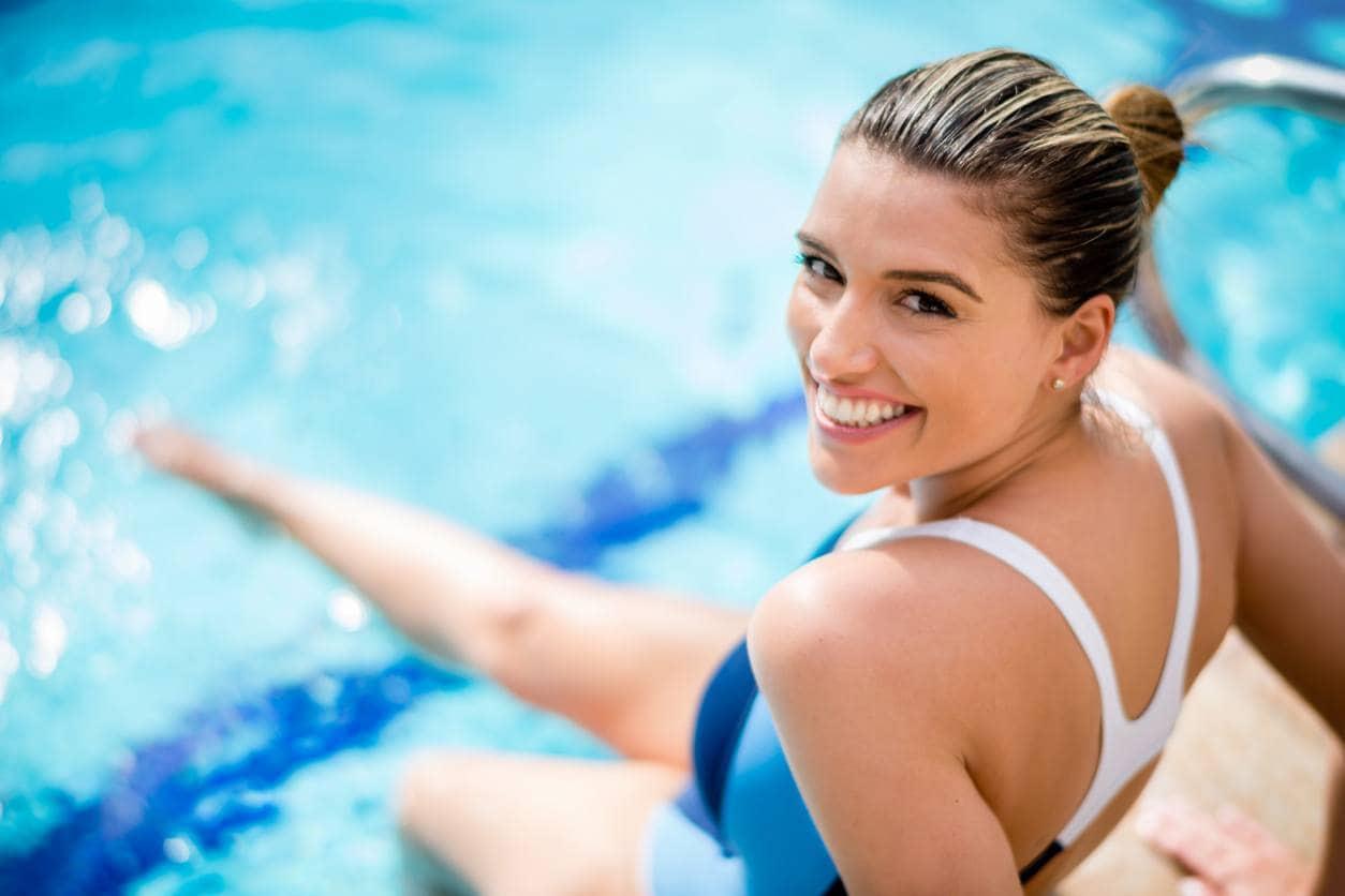 Похудеть в бассейне женщине