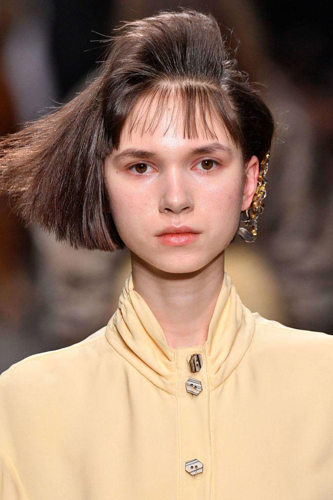 80s hairstyles blunt bob fanned bangs