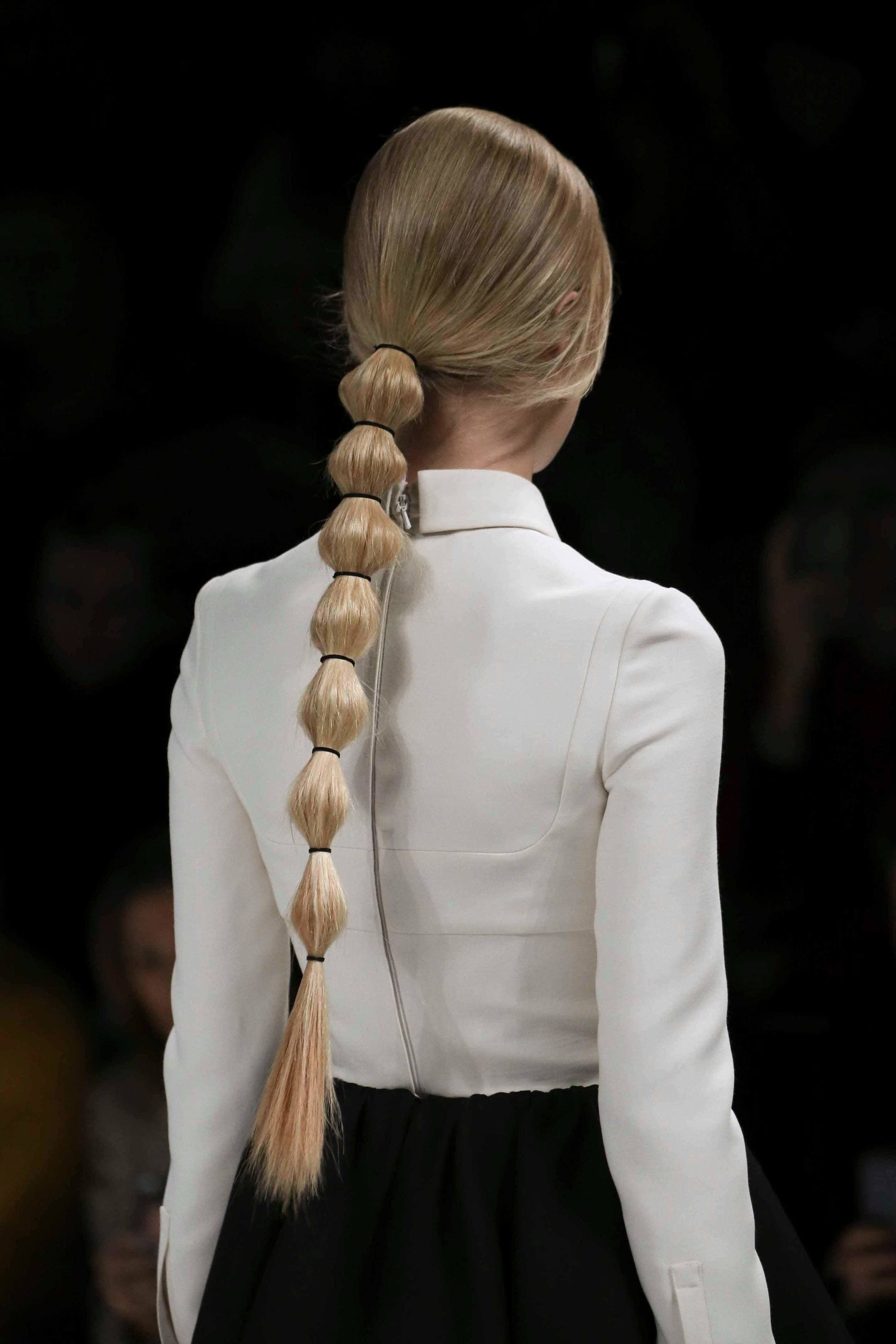 bubble pony best long hairstyles