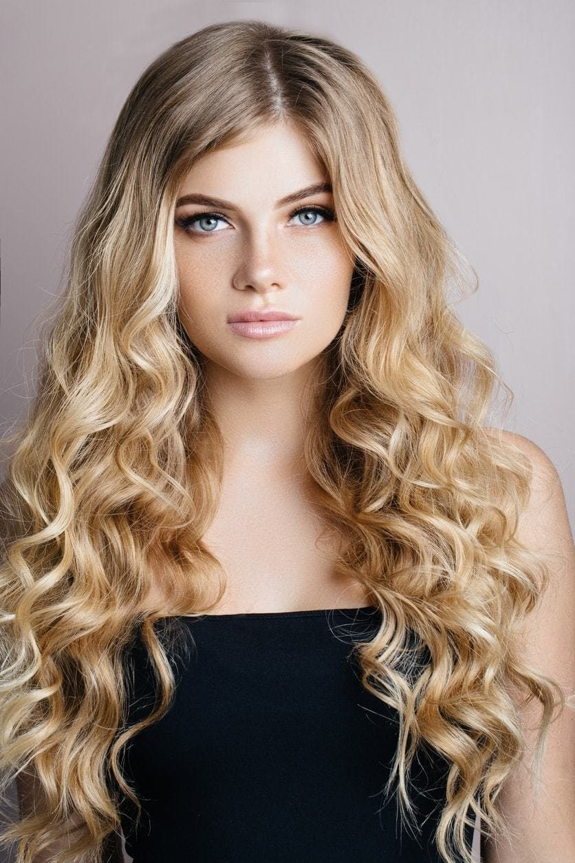 all-over curls best long hairstyles