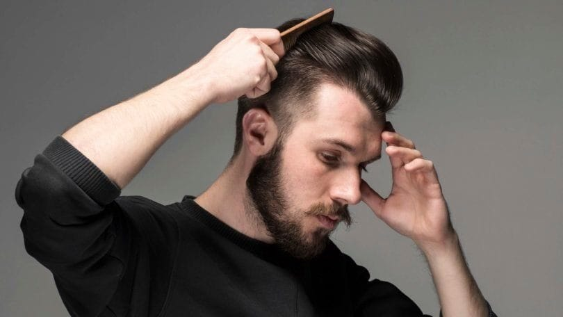 Comb Over Hairstyles to Try and How to Style 'Em With Ease