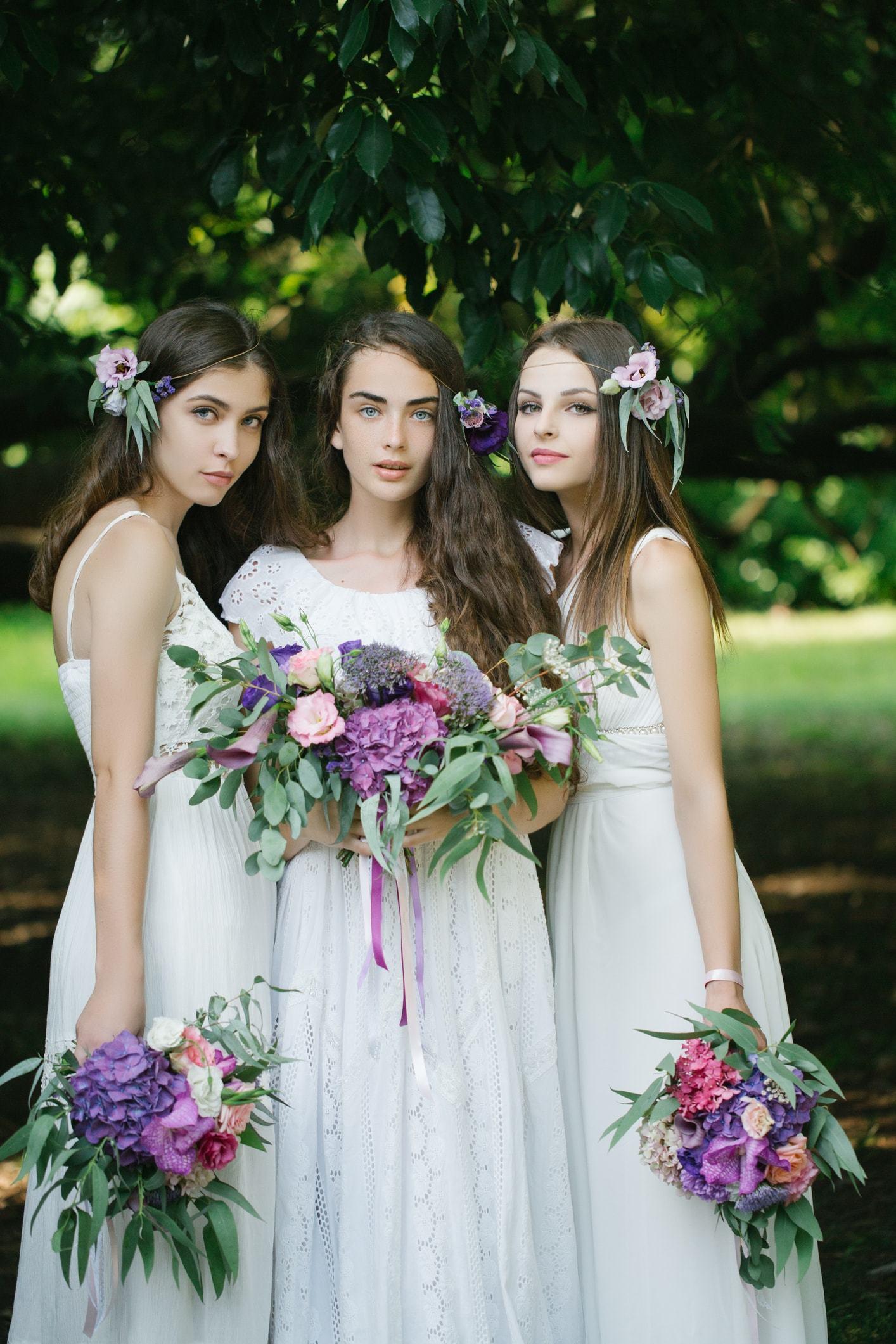 flower girl hairstyles simple flower crowns