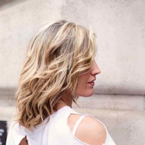 Mid Length Layered Hairstyles For Thick Hair 55