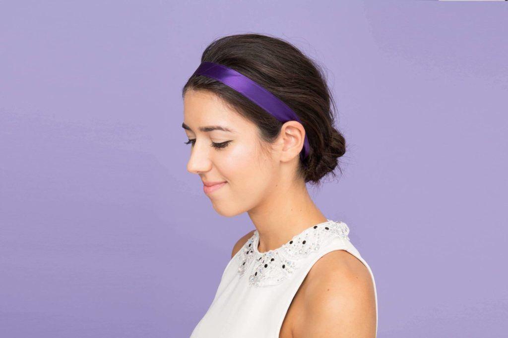 headband hairstyles beribboned
