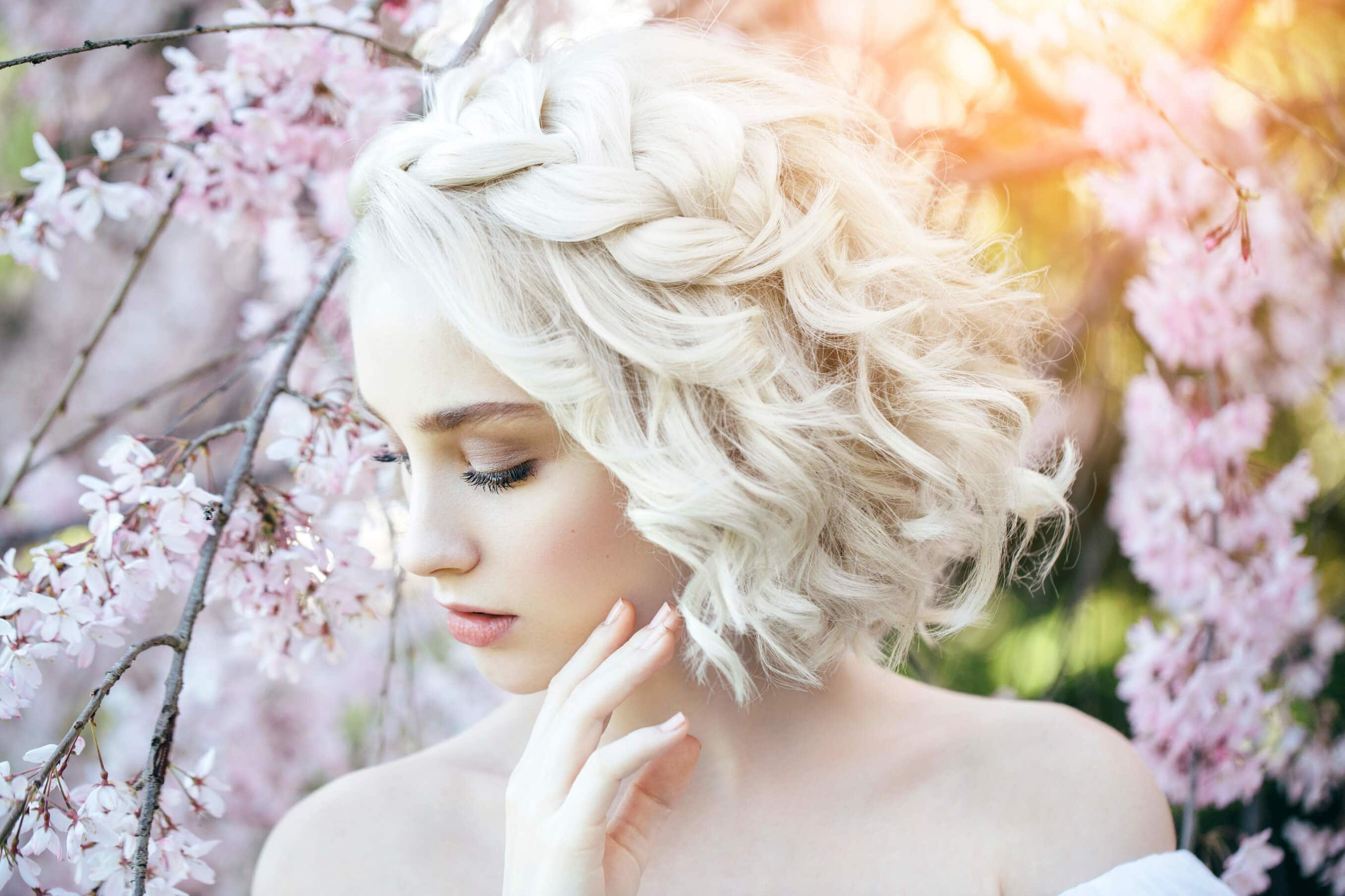 wedding braids for short hair