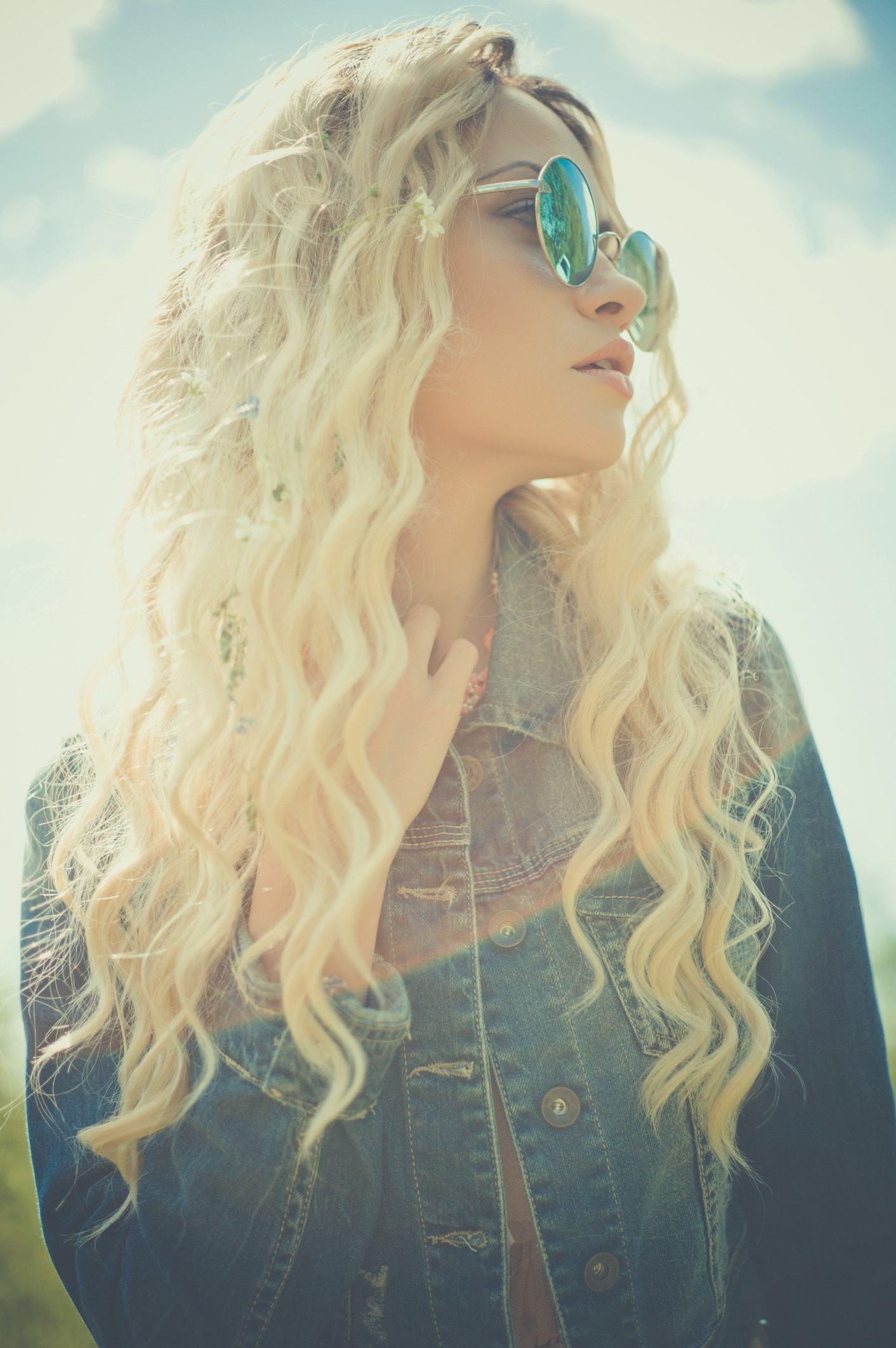 best shampoo for damaged hair long blonde curls