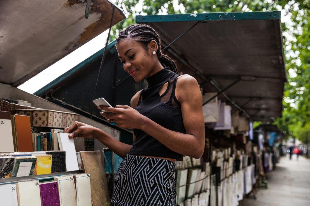 Ghana Braids: Low Ponytail
