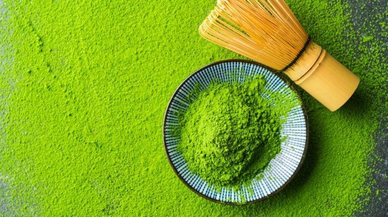 green tea shampoo