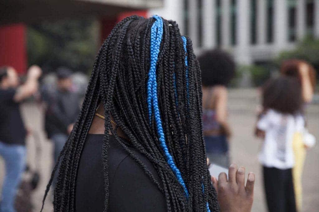 long box braids two tones