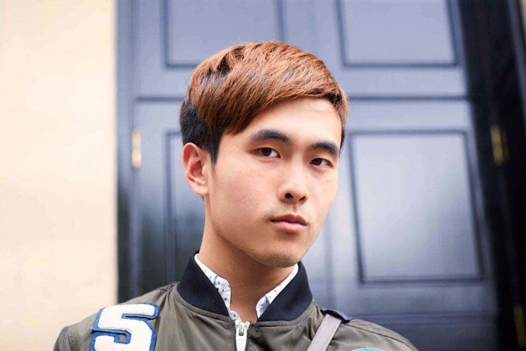 brown men's hair color