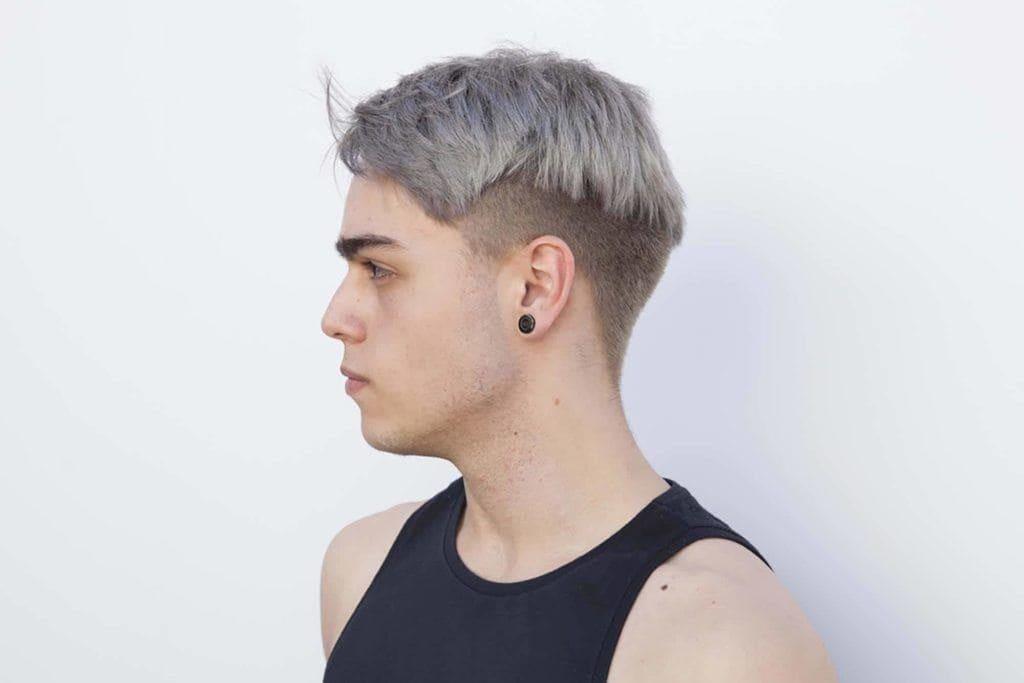 gray hair men's hair color