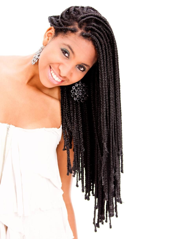 single box braids: extra long