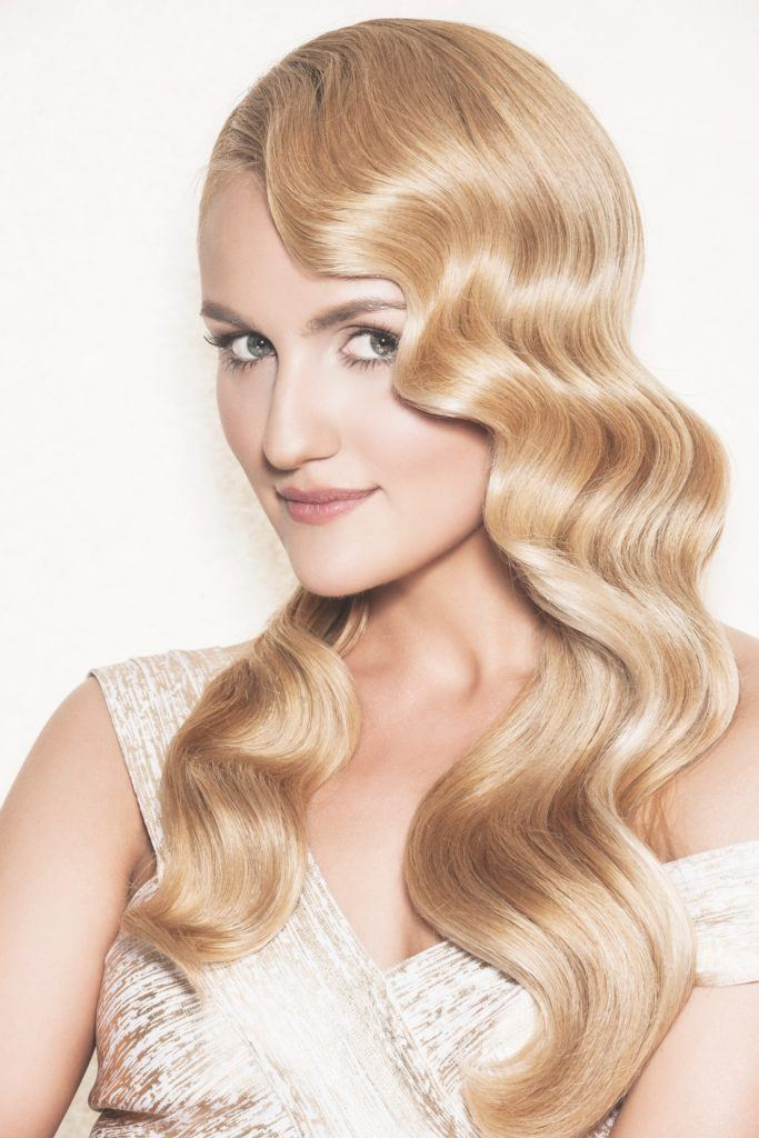 vintage hairstyles for curly hair hollywood glam