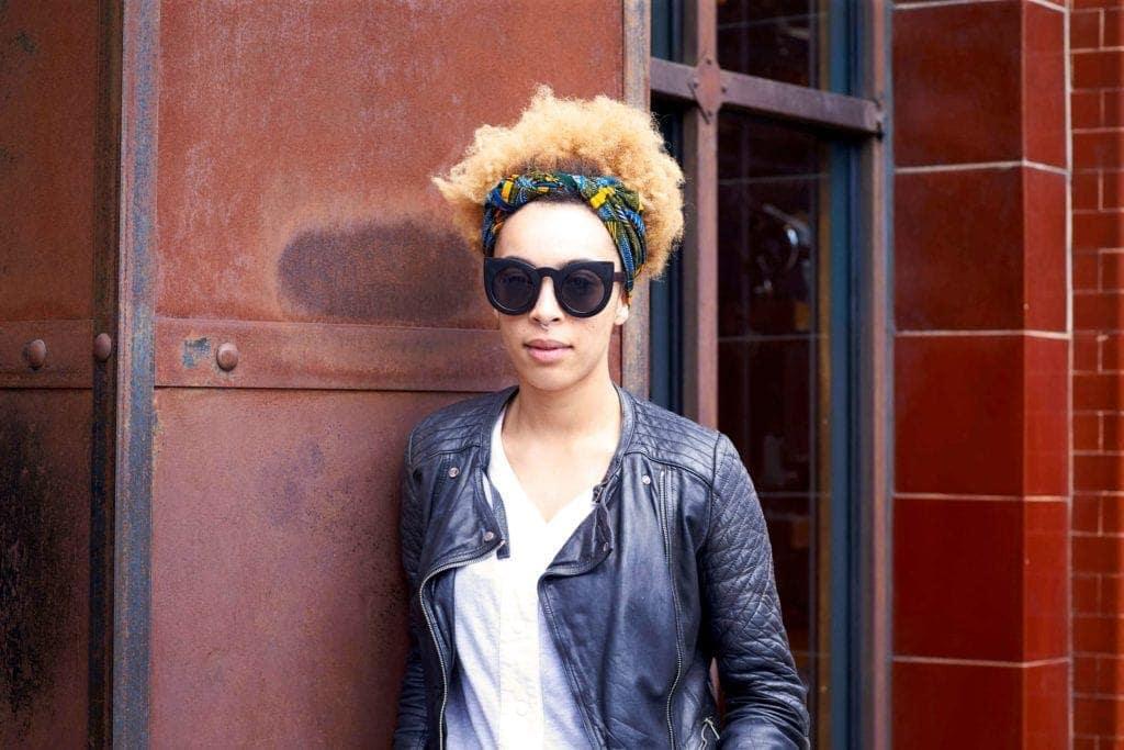 4b hair: scarf accessory