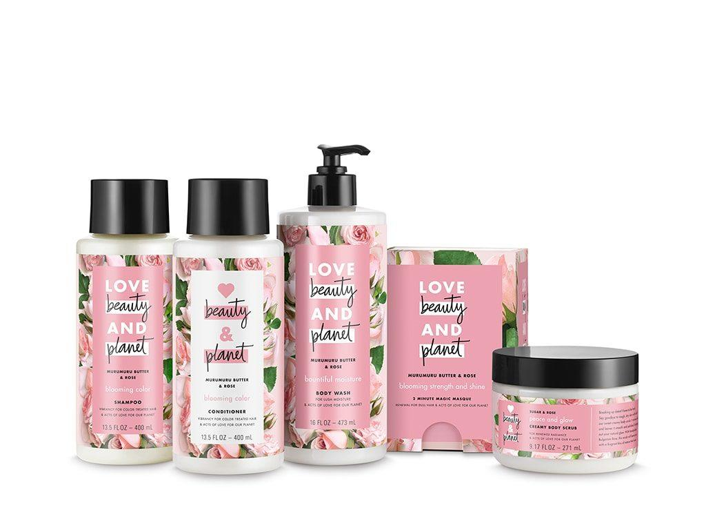 love beauty and planet blooming color line