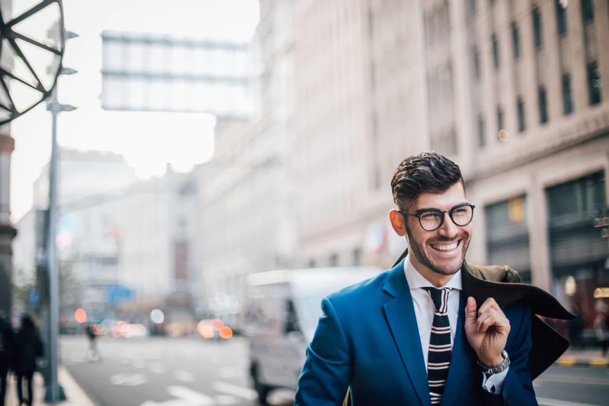 professional haircuts for men gelled hair