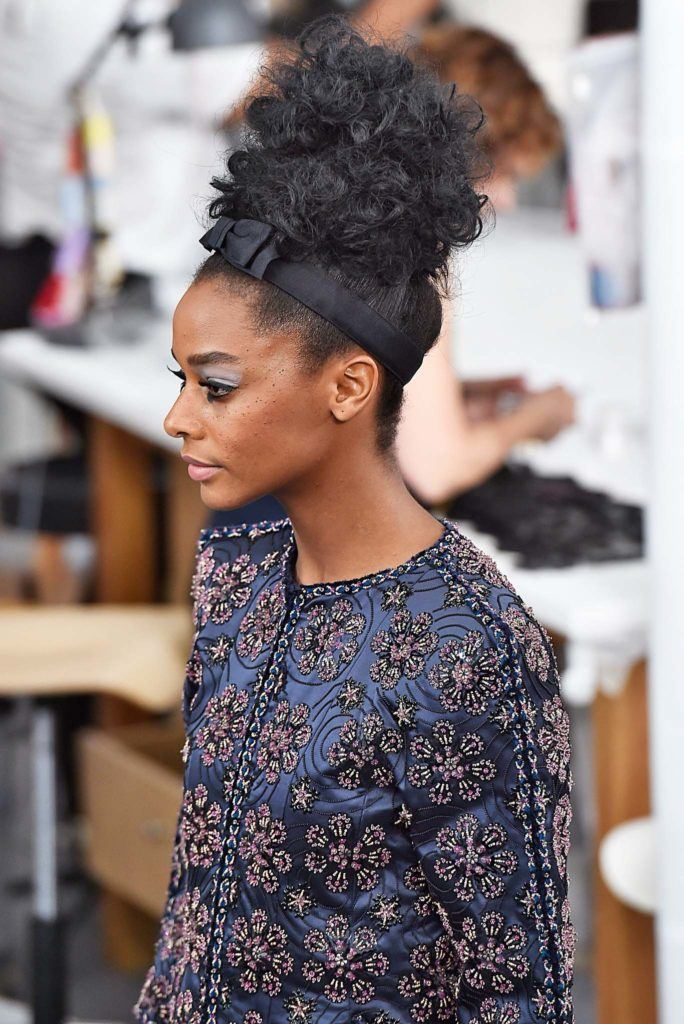 African american prom hairstyles: headband updo