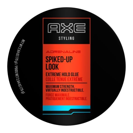 AXE SPIKED UP LOOK: EXTREME HOLD GLUE