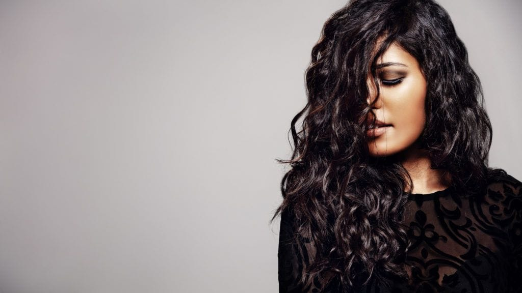 body wave perm: defined waves