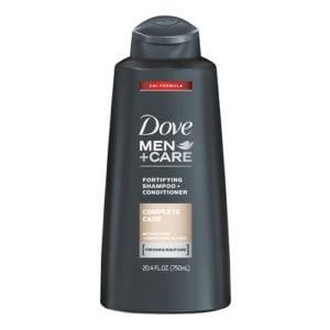 dove mencare complete care fortifying shampoo and conditioner