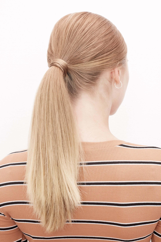 everyday hairstyles sleek ponytail