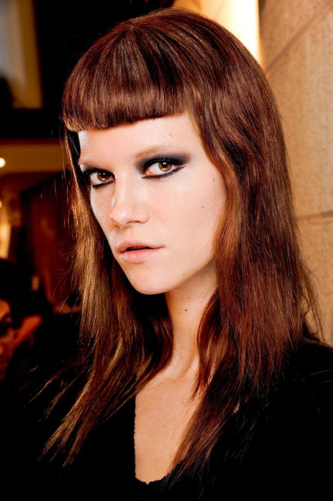 goth hairstyles micro fringe