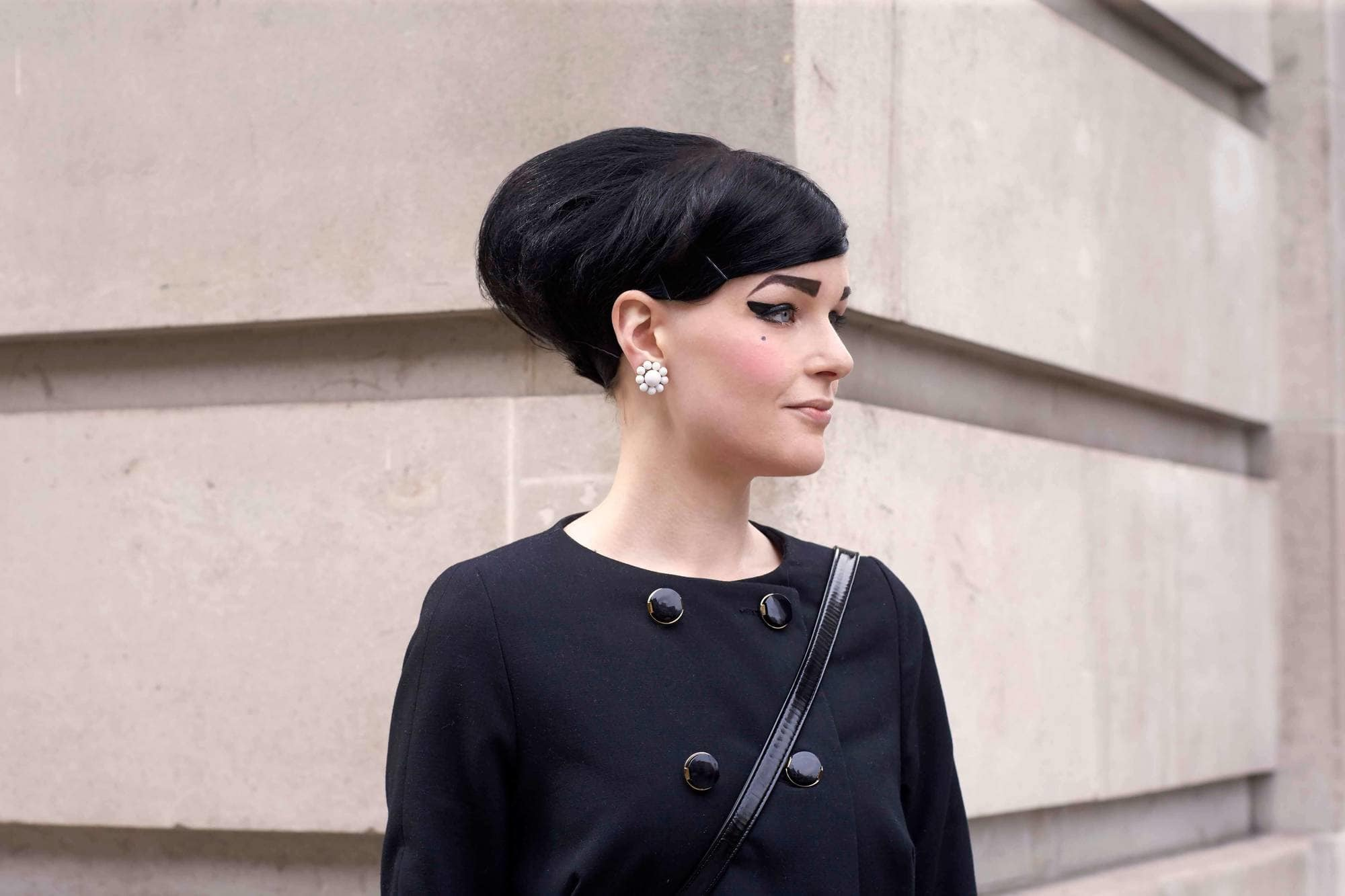 gothic hairstyles beehive