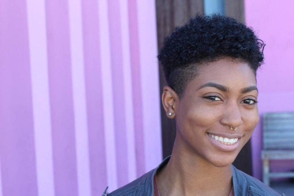 gothic hairstyles tapered afro