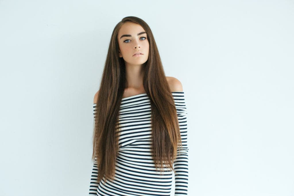 cute hairstyles for straight hair voluminous