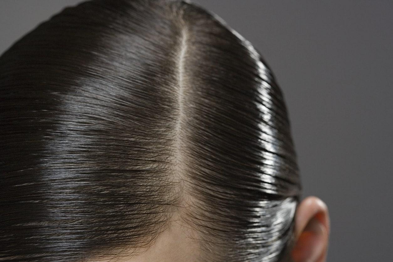 alcohol free hair gel