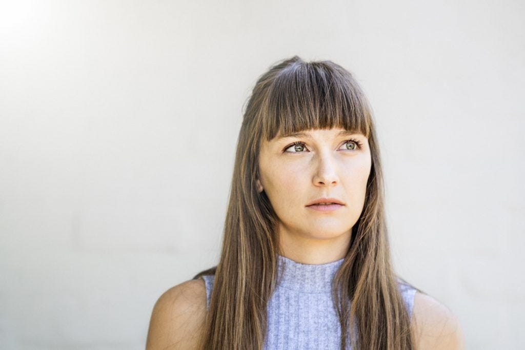 straight hair with bangs long cropped