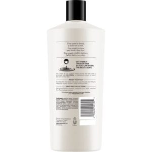 tresemme thickfull conditioner rear view